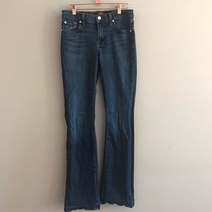 7 For All Mankind Boot Cut Jeans Size 30